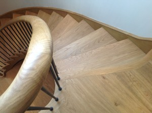 modern custom built bespoke stairs ireland
