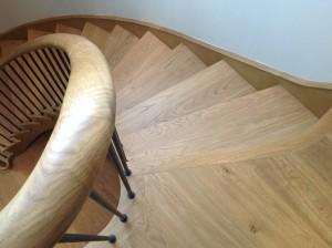 modern custom built bespoke stairs ireland