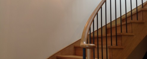 Simple Elegant Curved Staircase
