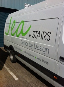 JEA irish stairs van