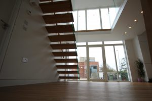 Bespoke Modern Cantilevered Stairs