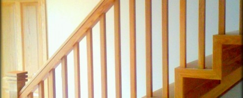 Modern Oak String-less Stairs