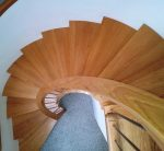 Curved Modern Oak Stairs