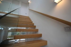 Bespoke Modern Cantilvered Stairs
