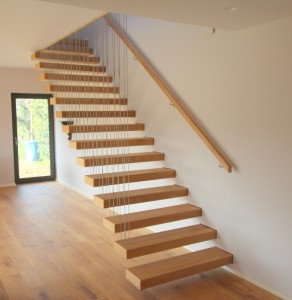 custom made bespoke stairs ireland