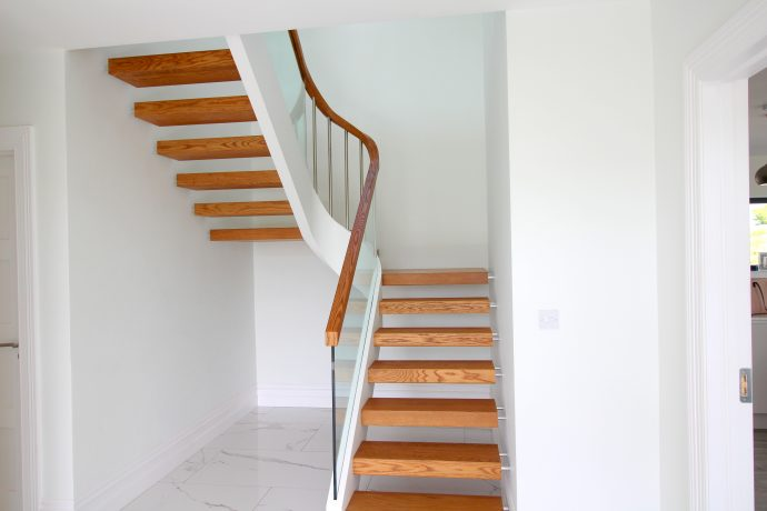 Simple Modern staircase design