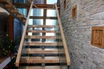 Hardwood mono string stairs Ireland