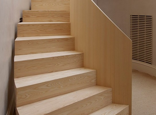Helical Curved Stairs