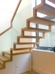 Zig Zag stairs in oak