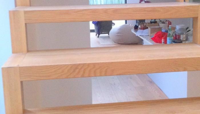 Oak Open Rise Aztech Staircase