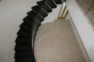 floating curved stairs ireland