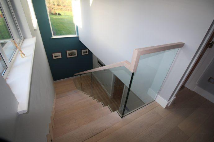 bespoke modern custom stairs ireland