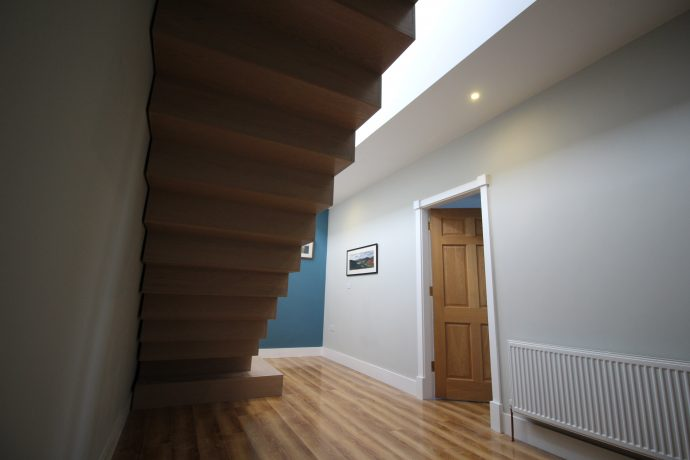 besoke modern custom stairs ireland