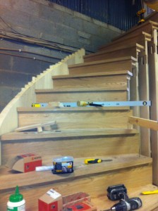 stair design Installation and manufacture of curved staircase