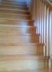 oak treads and oak risers