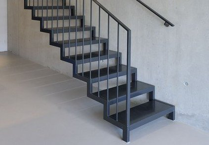 SimpleMildSteel - Download Simple Stair Design For Small House  Background