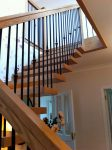 modern open rise stairs